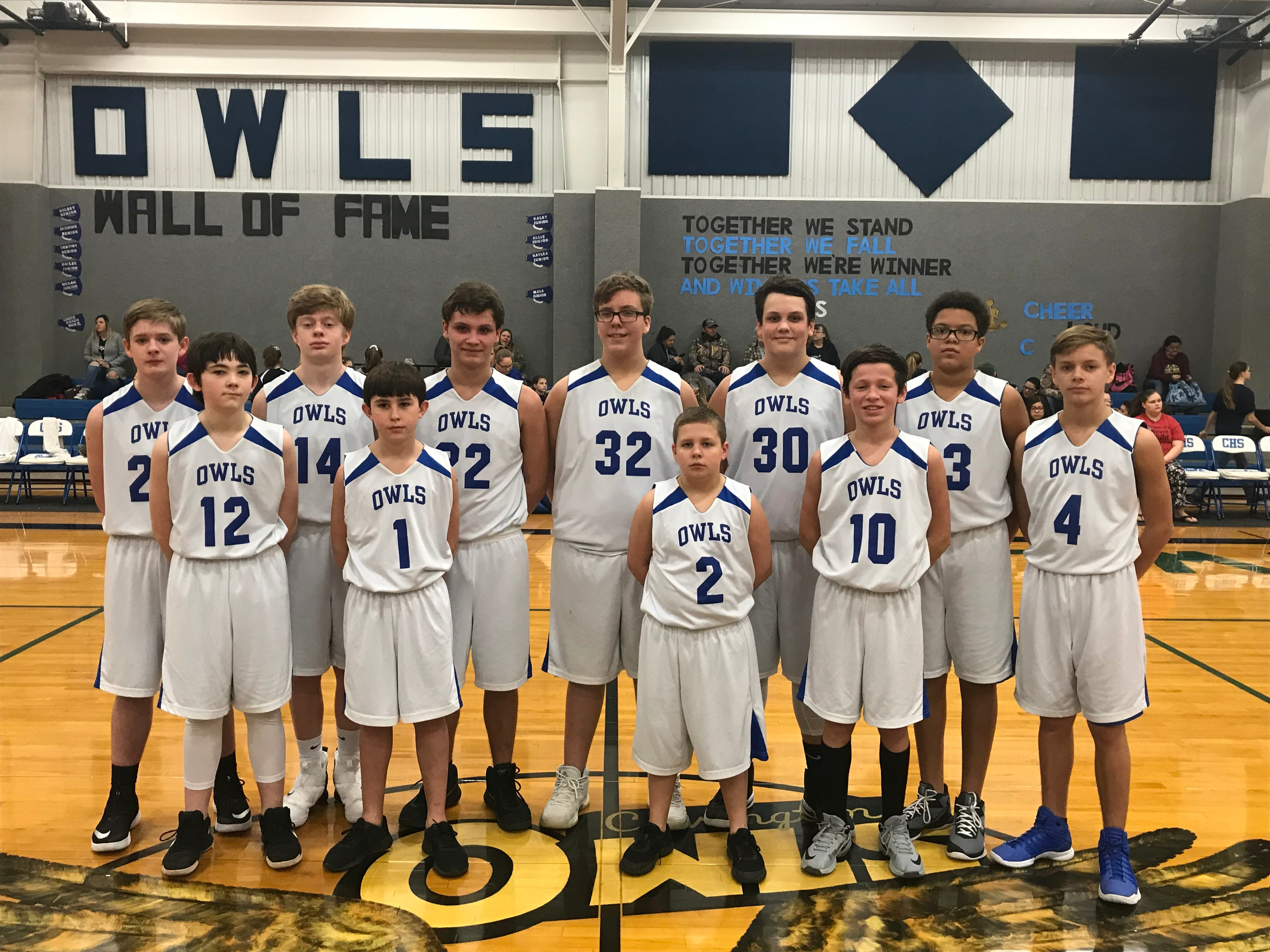 2018-19 Junior High Basketball