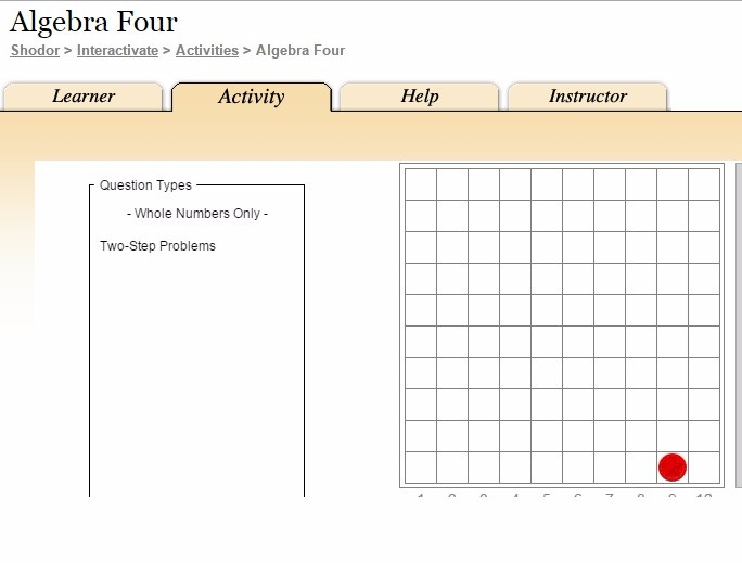 Algebra Four Game logo