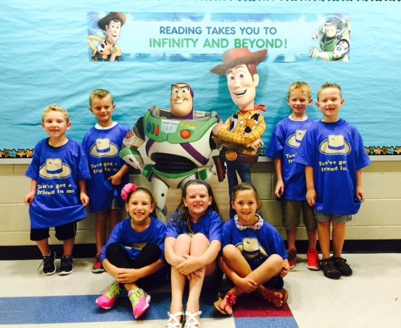 Image result for toy story reading