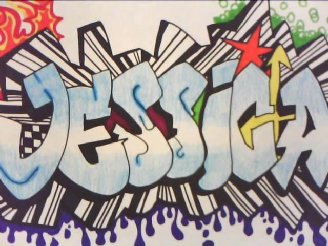 Imagenes que digan jessica en graffitis - Imagui