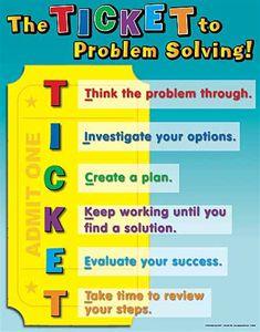math problem solving steps